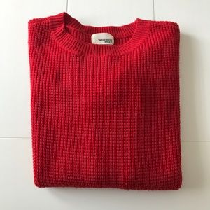 Wilfred Free: Isabelli Waffle Sweater